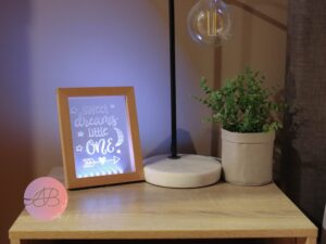 LED Photo Frame and Inserts