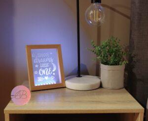 LED Photo Frame and Inserts